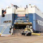 Crece el Movimiento de Carga Automotriz en el Puerto Lázaro
